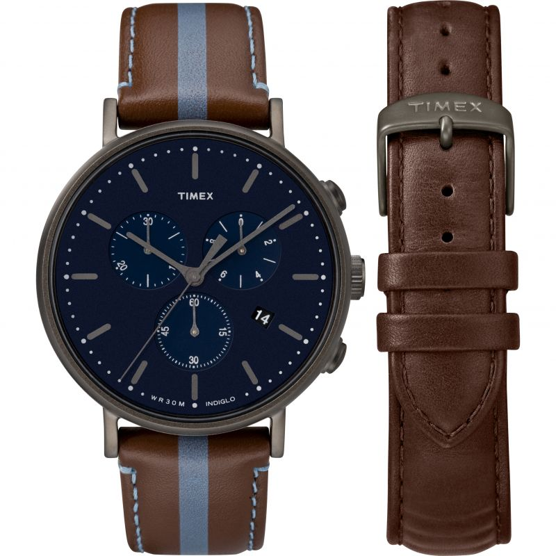 Mens Timex Fairfield Box Set Chronograph Watch from Timex