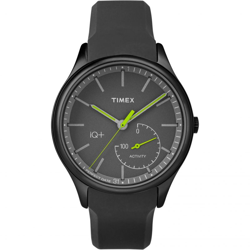 Mens Timex IQ+ Move Activity Tracker Bluetooth Hybrid Smartwatch Watch from Timex