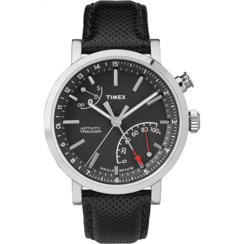 Mens Timex Metropolitan+ Activity Tracker Bluetooth Hybrid Smartwatch Chronograph Watch from Timex