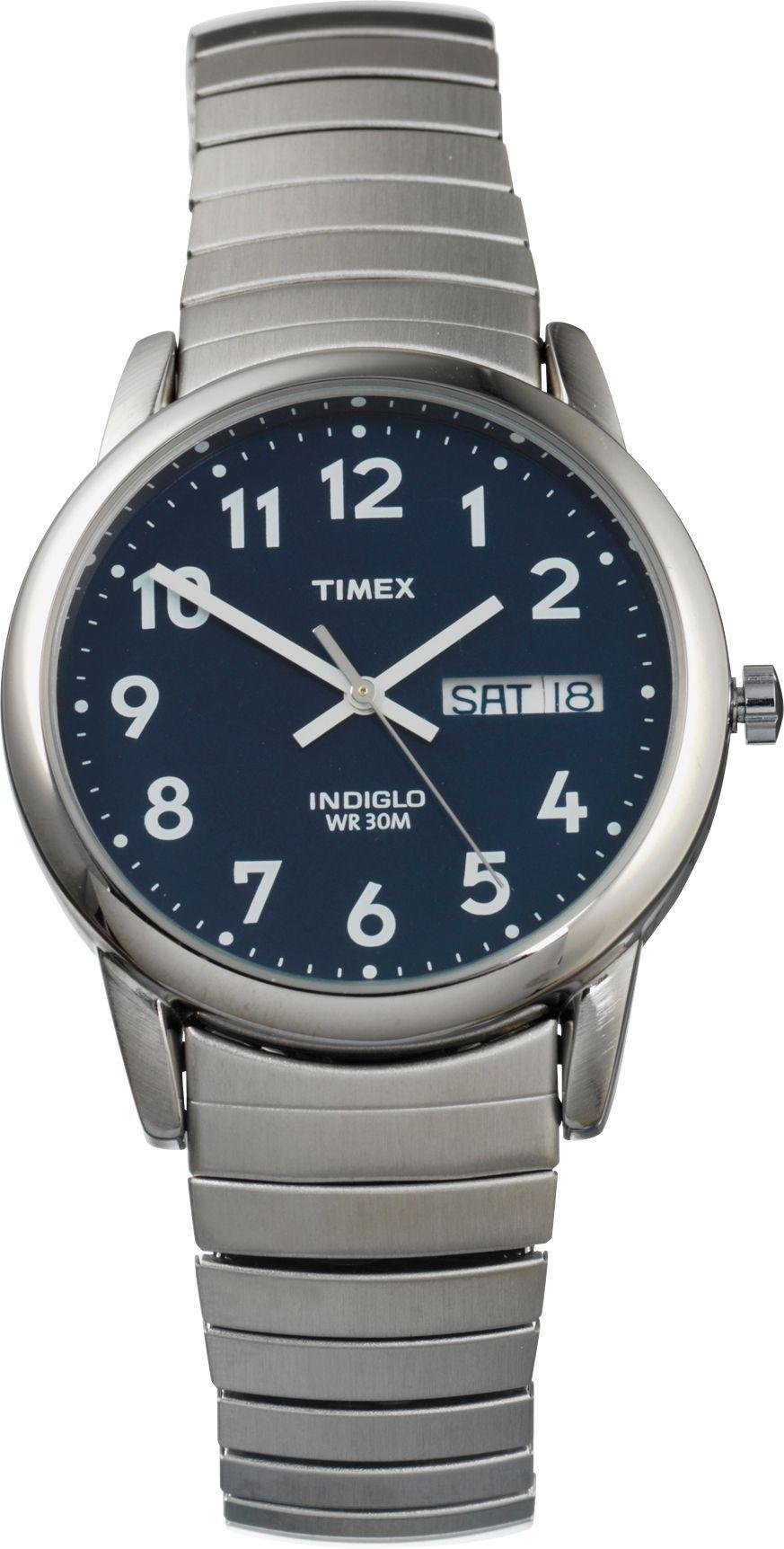 Timex - Mens Classic Indiglo Blue Dial Expander - Watch from Timex