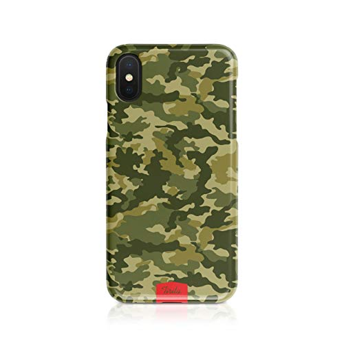 Tirita Hard Phone Case/Cover compatible with iPhone 7/8 / SE 2020 Camouflage Camo Pattern [08 - Multicam Green] from Tirita