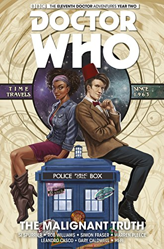 Doctor Who: The Eleventh Doctor - The Malignant Truth (Doctor Who New Adventures) from Titan Comics