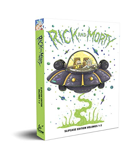 Rick & Morty Slipcase Vol 1-3 from Titan Comics