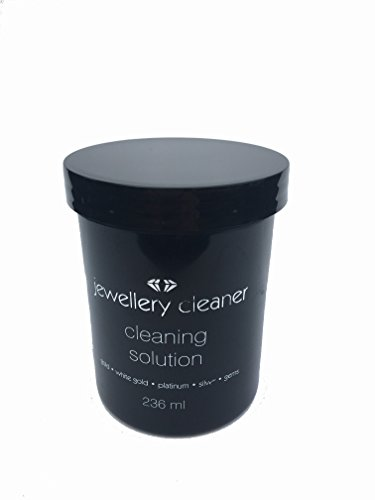 JEWELLERY CLEANER BATH WITH BRUSH AND BASKET 236ML GOLD SILVER PLATINUM OPALS PEARLS GEMS WHITE GOLD ETC REUSABLE from JT
