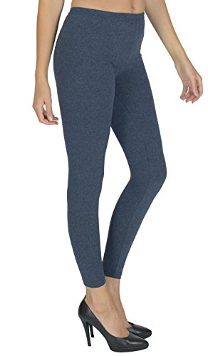 Today Is Her Women's Full Length Leggings by Extra Comfort Range, Plus Sizes Denim Size 12 from Today Is Her