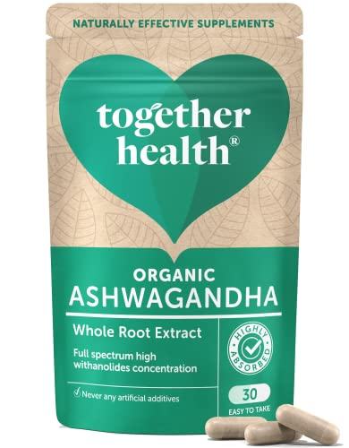 Together Health  WholeHerbs Ashwagandha Capsules, 30-Count from Together Health