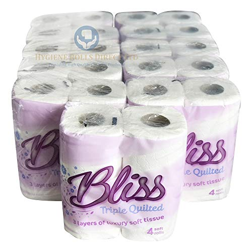Bliss Triple Quilted Luxury Toilet Tissue Roll 10 x 4 pack from Toilet Rolls