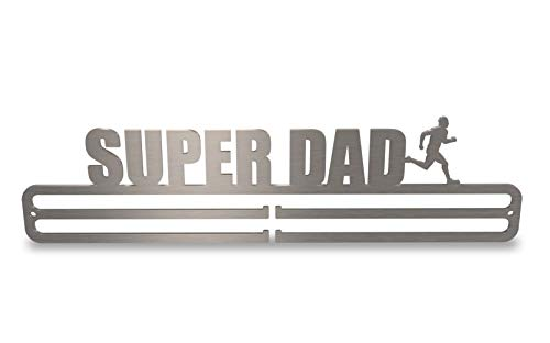 Tollington Stores Medal Hanger Display 'Super Dad Male Runner' 2.0 from Tollington Stores