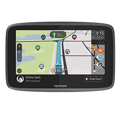 TomTom Camper Sat Nav, 6 Inch, with Updates Via Wi-Fi, Camper and Caravan POIs, Worldwide Lifetime Maps, TomTom Road Trips from TomTom