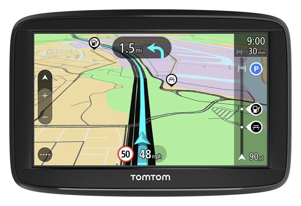 TomTom - Sat Nav - Start 42 43 Inch - Full Europe Lifetime Map Updates from TomTom