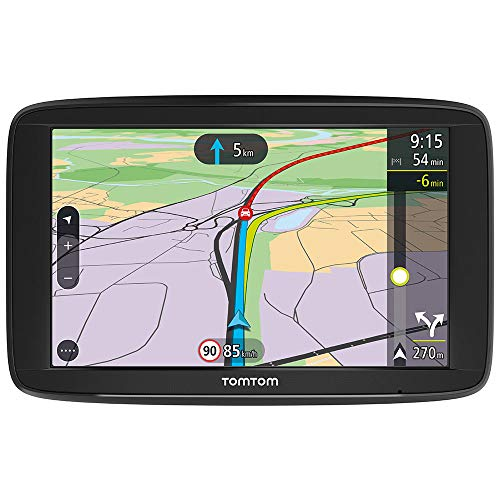 TomTom  Car Sat Nav VIA 62, 6 Inch with Handsfree Calling, Lifetime Traffic via Smartphone and EU Maps, Resistive Screen from TomTom