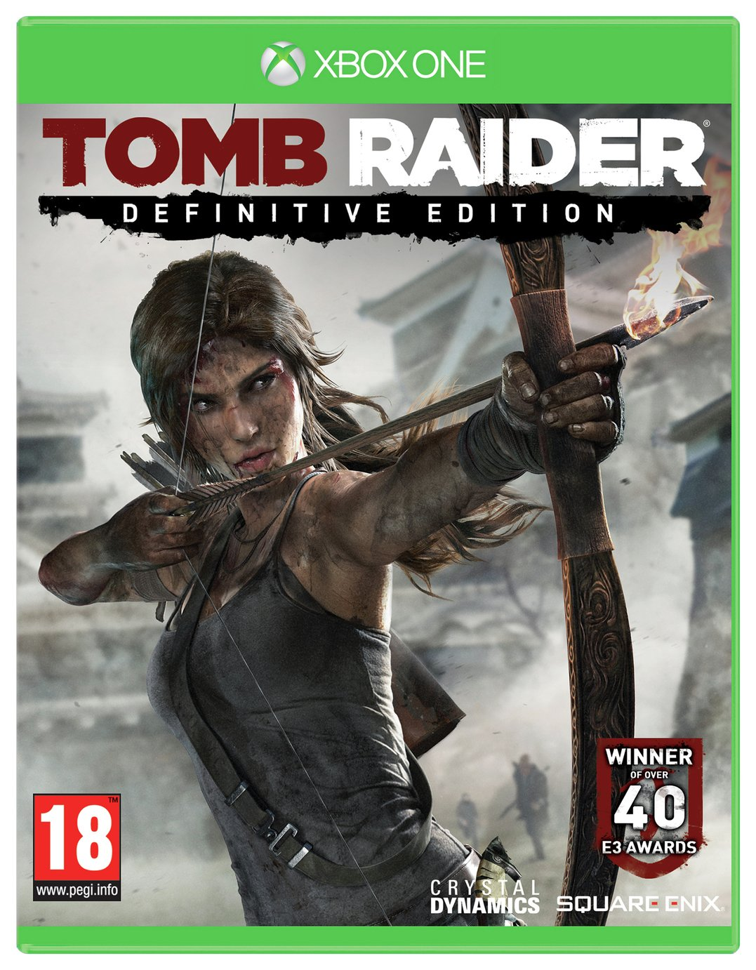 Tomb Raider: Definitive Edition Xbox One Game from Tomb Raider