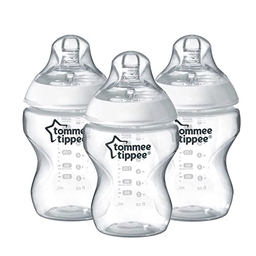 Tommee Tippee Closer to Nature 260ml/9oz Bottles x 3 from Tommee Tippee