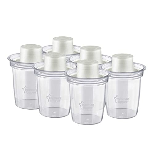 Tommee Tippee Milk Powder Dispensers x 6 from Tommee Tippee