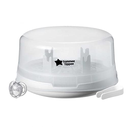 Tommee Tippee Closer to Nature Microwave Steam Steriliser, White from Tommee Tippee