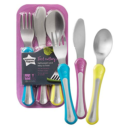 Tommee Tippee Explora First Grown Up Cutlery Set (Variable Colours) from Tommee Tippee