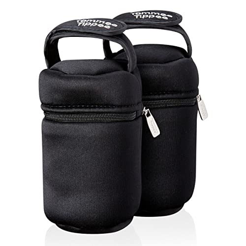 Tommee Tippee Closer to Nature Insulated Bottle Bag, Pack of 2 from Tommee Tippee