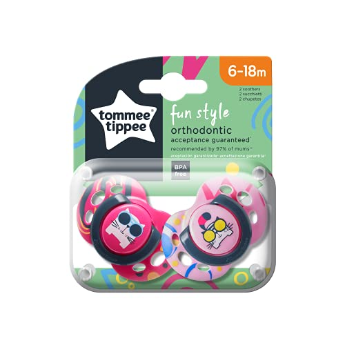 Tommee Tippee Soother (6-18 Months) Assorted Design from Tommee Tippee