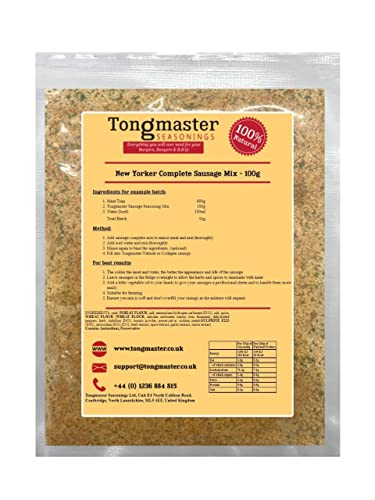 New Yorker Complete Sausage Mix - 100g from Tongmaster