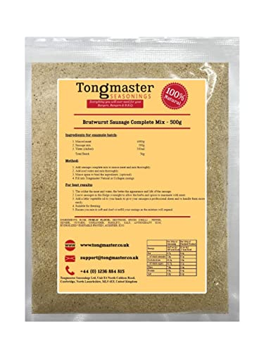 Tongmaster Bratwurst Sausage Mix 500 g from Tongmaster
