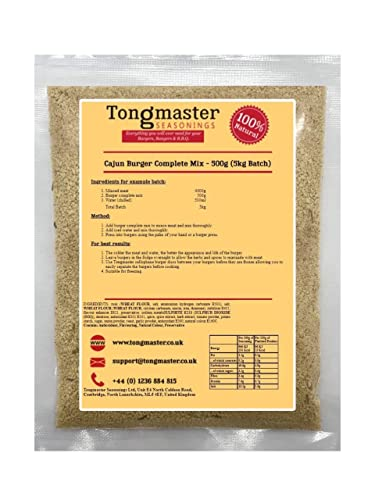 Tongmaster Cajun Burger Ready Mix 500 g from Tongmaster