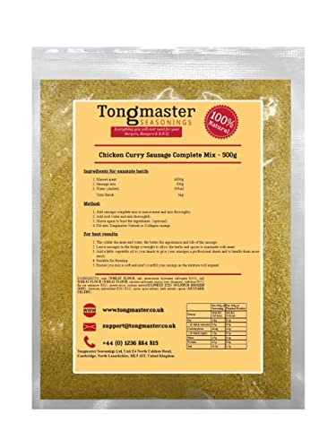 Tongmaster Chicken Curry Sausage Mix 500 g from Tongmaster