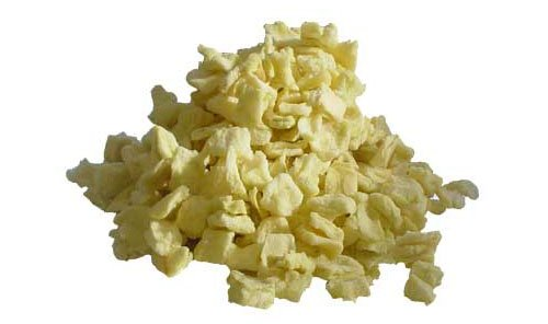 Diced Dehydrated Apple Flakes - 500g from Tongmaster