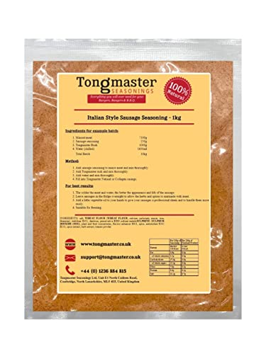 Tongmaster Italian Style Sausage Seasoning 1 kg from Tongmaster