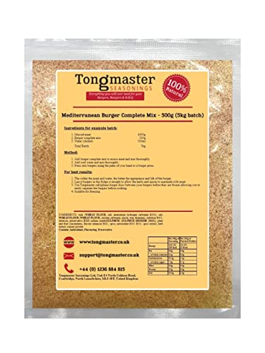 Tongmaster Mediterranean Burger Mix 500 g from Tongmaster
