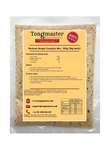 Tongmaster Mexican Complete Burger Mix 500 g from Tongmaster