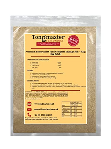 Tongmaster Premium Honey Roat Pork Sausage Complete 500 g from Tongmaster