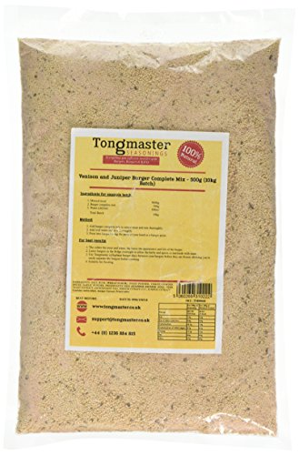 Tongmaster Venison and Juniper Burger Mix 500 g from Tongmaster