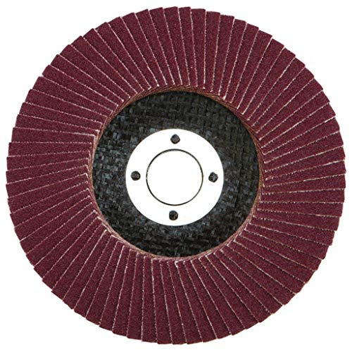 10 Pack of 115mm Mixed Grit Aluminium Oxide Flap Discs for Angle Grinders from Tooltime