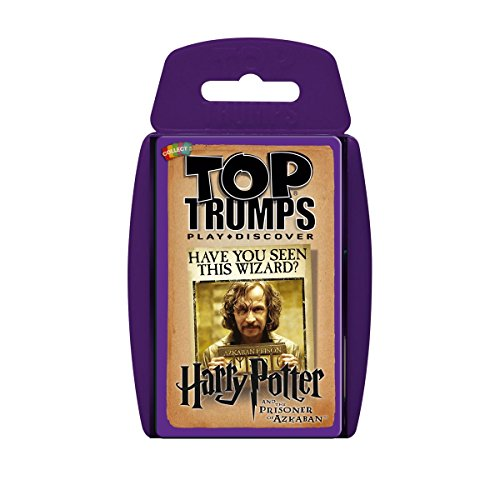 Harry Potter and the Prisoner of Azkaban Top Trumps Card Game from Top Trumps