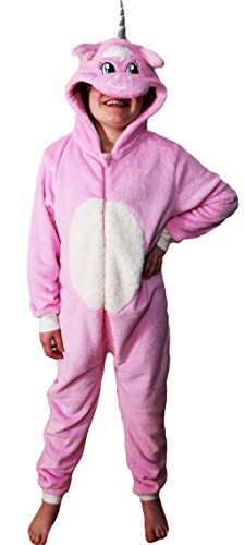 Childrens Boys and Girls Onesie Fluffy Fleece in Kids WUNSY Unicorn Age 10-11 from TopsandDresses