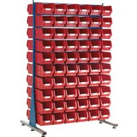 Topstore MDA1.5 Louvred Panel Spacemaster TC Bin Kits - Inc 28 x T... from Topstore