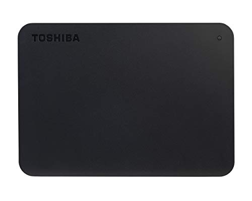 Toshiba HDTB410EK3AA 1TB Canvio Basics 2.5-Inch USB 3.0 Portable External Hard Drive - Black from Toshiba