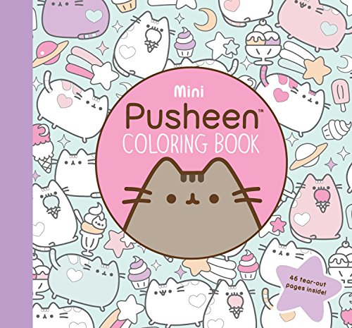 Mini Pusheen Coloring Book (Pusheen Book) from Gallery Books
