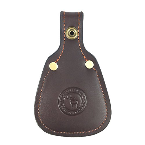 Tourbon Shooting Hunting Gun Barrel Rest Toe Protector Pad Thick Leather - Brown from TOURBON