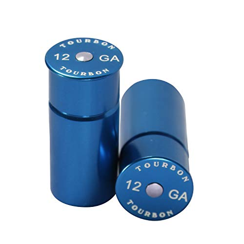 Tourbon Hunting Shotgun 12 Gauge Shells Snap Cap (Pack of 2 pieces) (Blue) from TOURBON