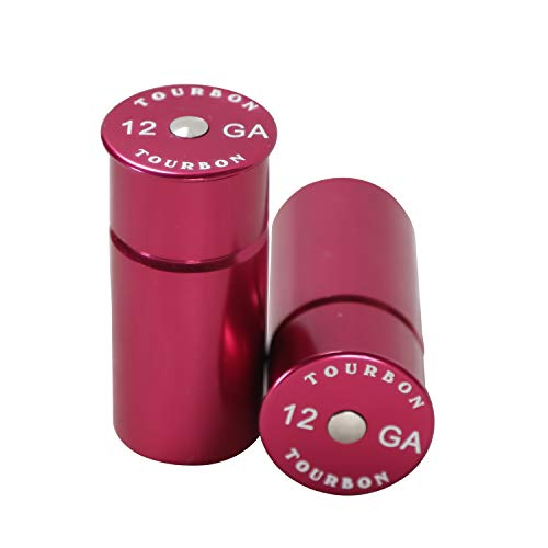 TOURBON Shotgun 12 Gauge Aluminium Snap Cap (Pack of 2 pieces) - Red from TOURBON