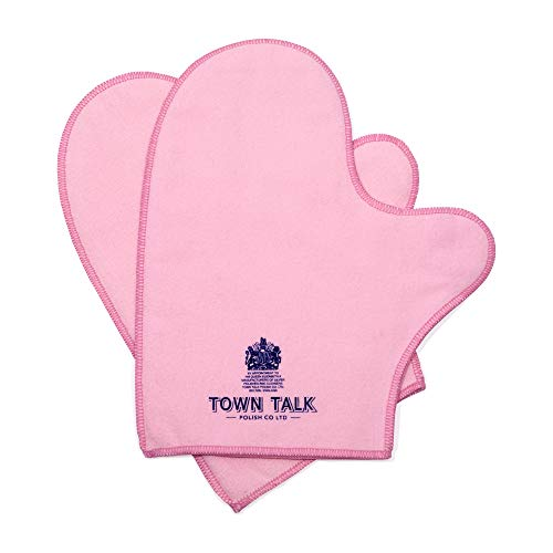 Town Talk Silver Polishing Mitts (one pair) from Town Talk