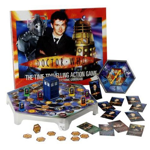 Doctor Who Time Travelling Board Game from Toy Brokers