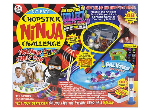 Toyland®Ultimate Chopstick Ninja Challenge - Practice Makes Perfect - Frantic Family Fun from Toyland