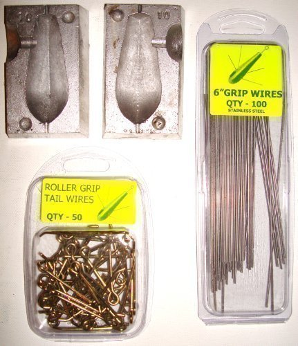 100 x 6 inch UPTIDE GRIP WIRES FOR MOULDS
