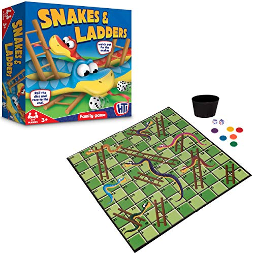 Traditional Games Snakes and Ladders from HTI Halsall Toys International