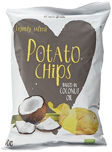 Trafo Organic Potato Chips Baked in Coconut Oil 40 g (Pack of 15) from Trafo