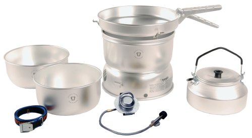 Trangia 25 Cookset With Gas Burner & Kettle from Trangia
