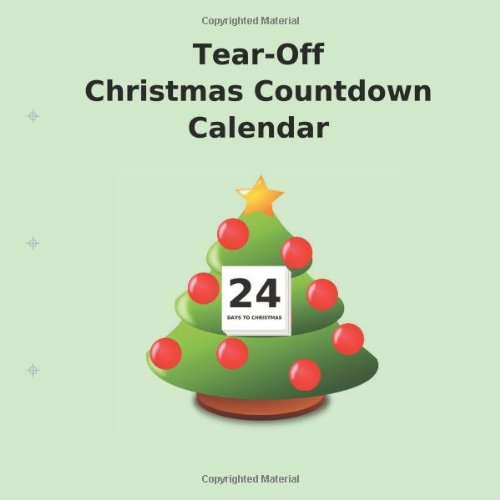 Tear-Off Christmas Countdown Calendar from Transcripture International