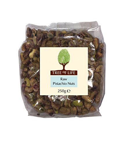 Tree of Life Raw Pistachios 250 g (Pack of 2) from Tree of Life
